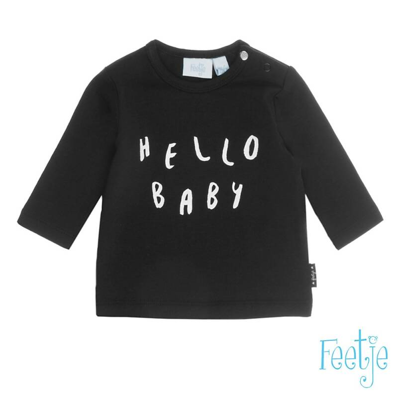 -50% Feetje Longsleeve hello baby Made with Love