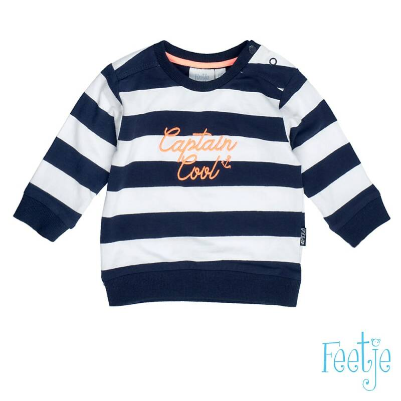 -25% Feetje Sweater streep Captain Cool