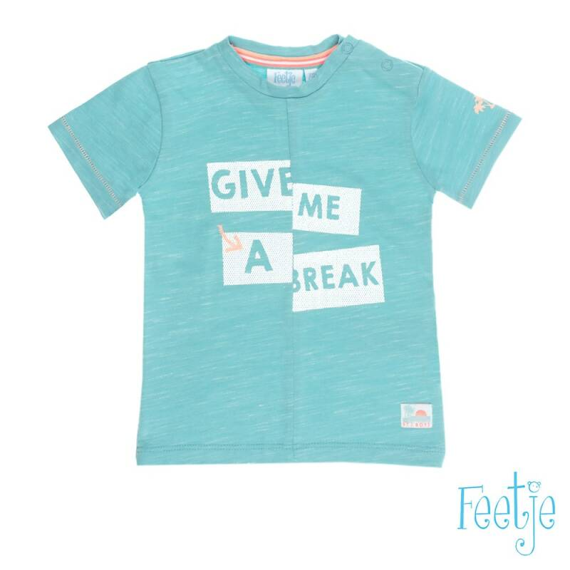 -50% Feetje T-shirt k/m Give me a break Pool party
