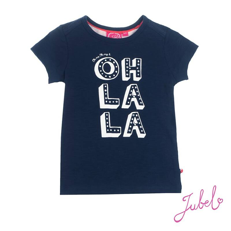 -50% Jubel T-shirt k/m Oh la la marine Sea View