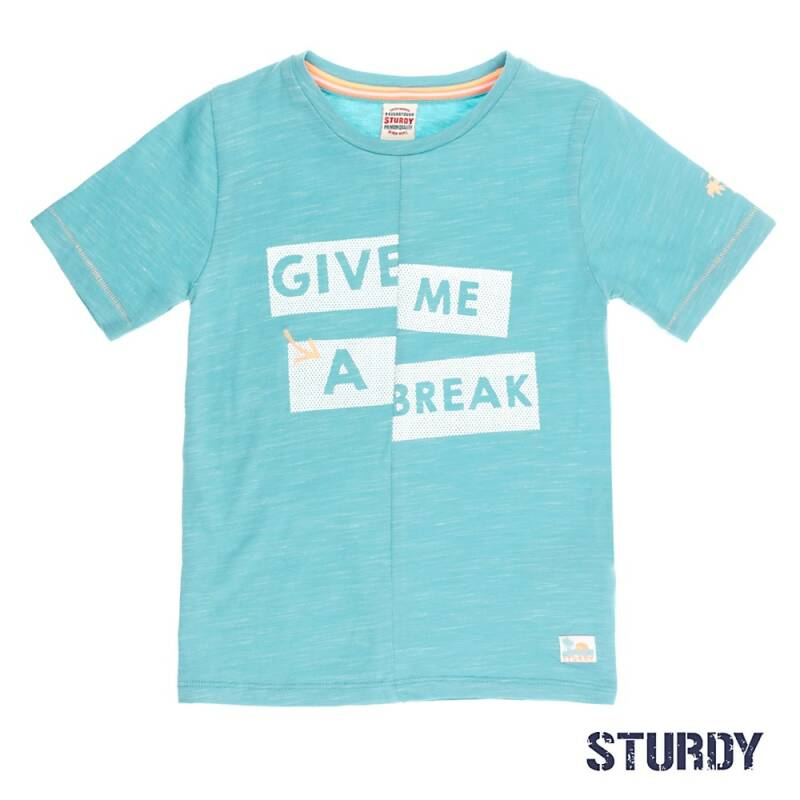 -50% Sturdy T-shirt k/m Give me a break Pool Party