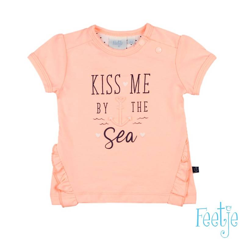 -50% Feetje T-shirt Kiss Me - Sailor Girl