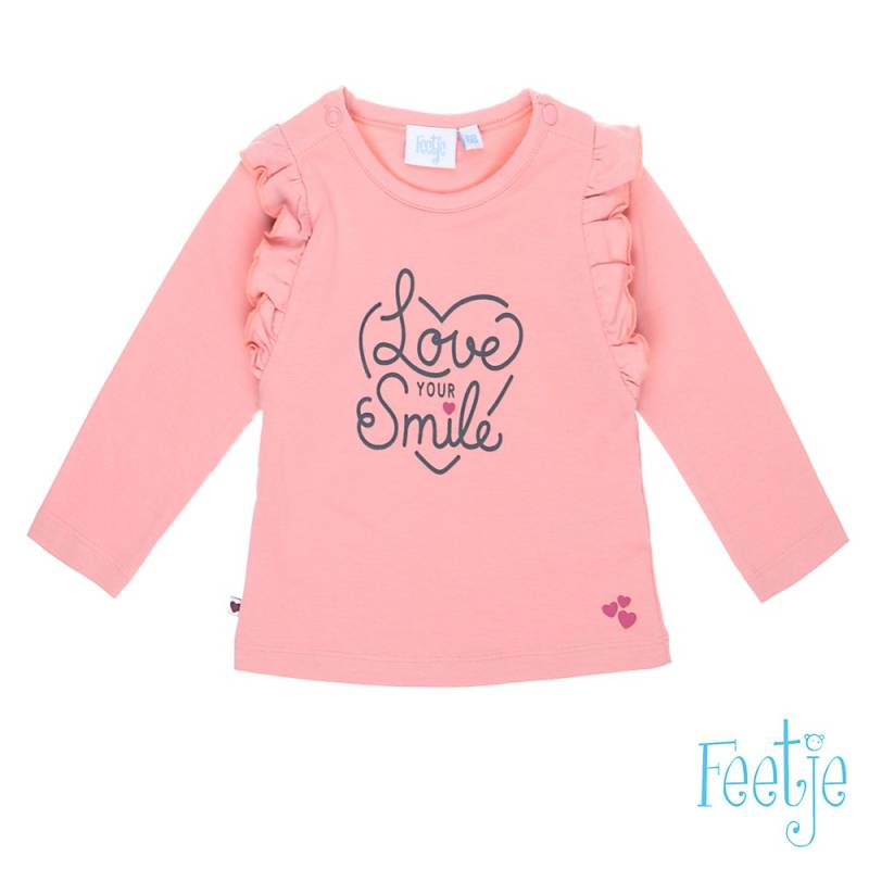 -20% Feetje Longsleeve Love Your Smile With Love