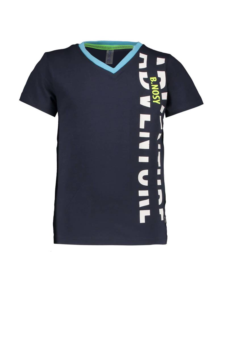 -50% B.Nosy Donkerblauw t-shirt Jungle
