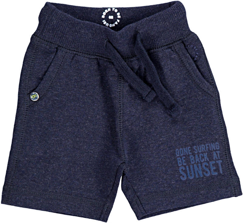 -50% Born to be Famous short navy