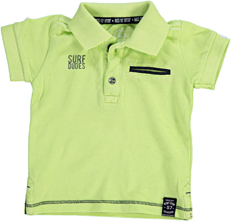 -50% Born to be Famous polo neon lime
