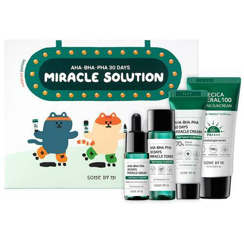 SOME BY MI Aha/Bha/Pha 30 Days Miracle Solution 4-Step Kit