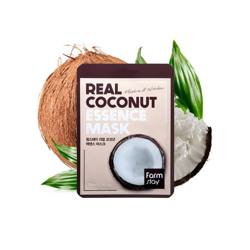 FARM STAY- REAL COCONUT ESSENCE MASK