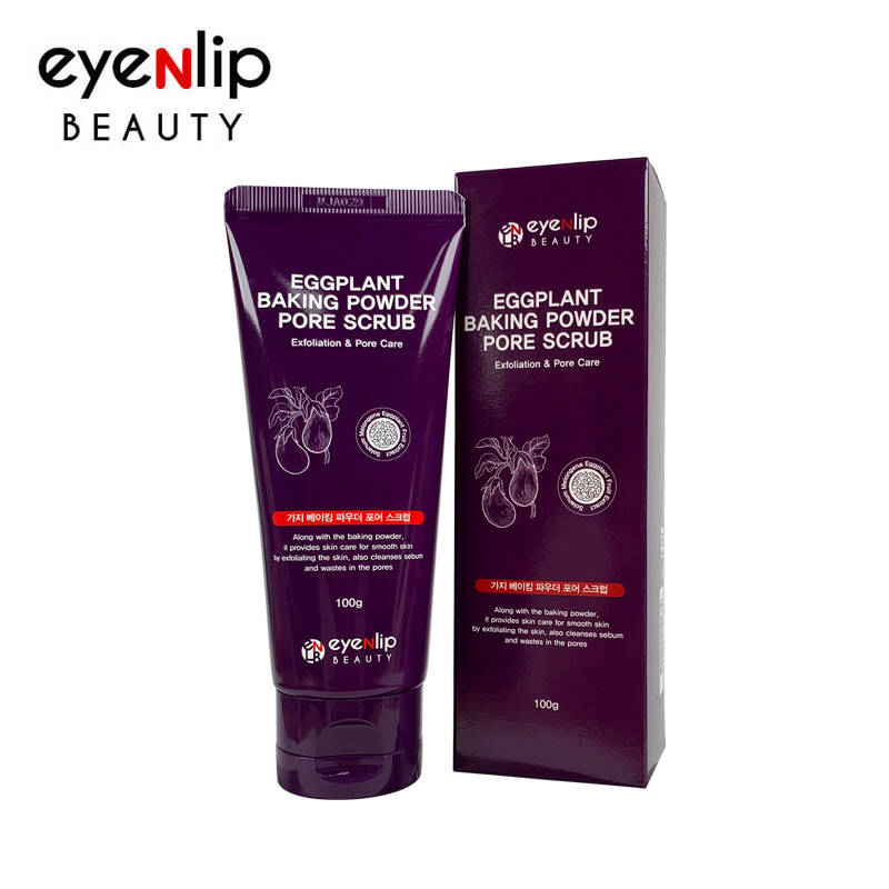 EYENLIP - EGGPLANT BAKING POWDER PORE SCRUB