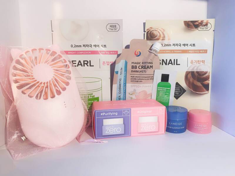 Korean Sample box
