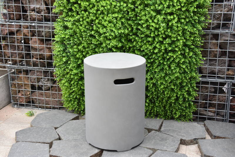 Gasfles cover 11 kg  Rond (beton look)