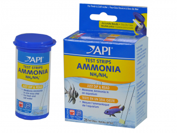 Ammonia test strips API