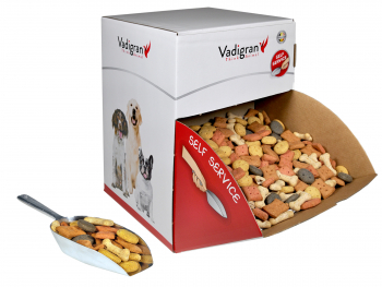 Snack hond biscuits multi mix 10kg