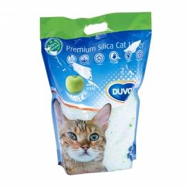 Premium silica cat litter appel 5l