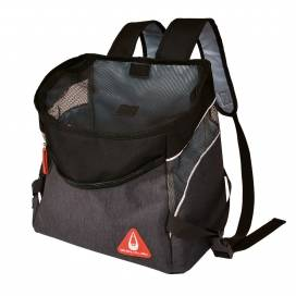 Promenade london backpack sporty Zwart 32,5x19x31cm