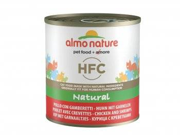 HFC cats natural kip en garnalen 280g
