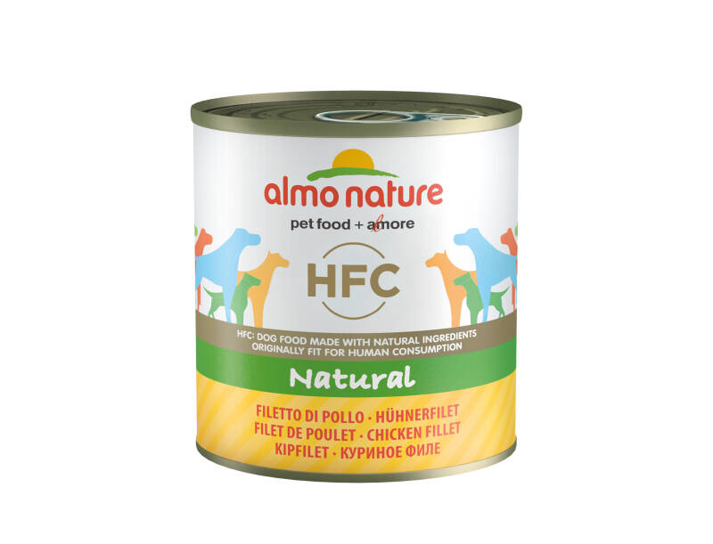 Almo nature HFC dogs natural kipfilet (12X280G)