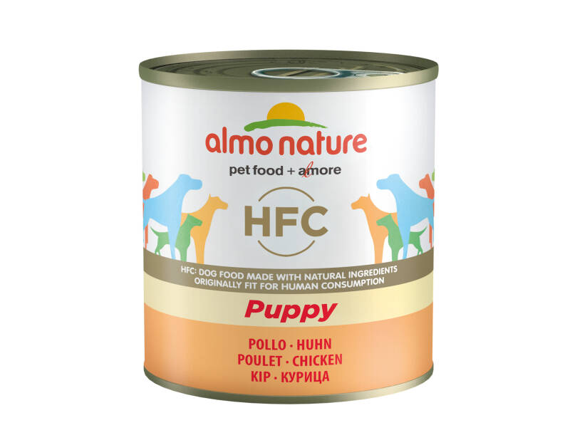 Almo nature HFC dogs puppy kip (12X280G)
