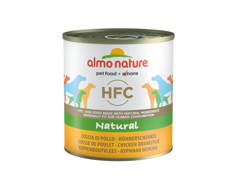 Almo nature HFC dogs natural kippenboutvlees (12x280G)