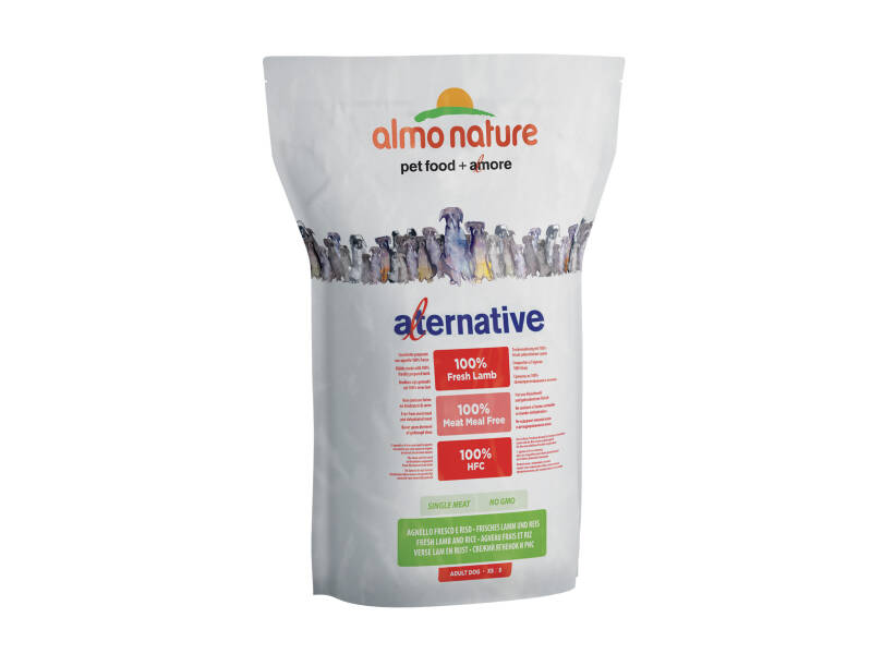 Almo nature HFC dogs 3,75kg XS-S lam & rijst
