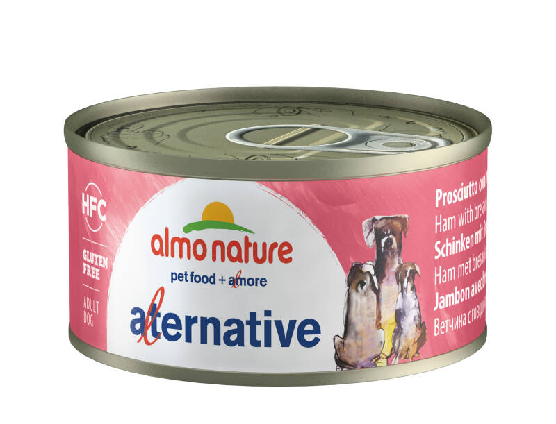 Almo nature HFC dogs ham met bresaola (24X70G)