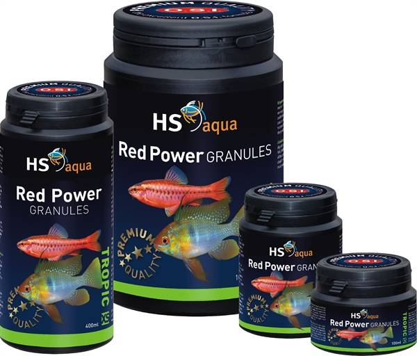HS aqua Red Power granules XS