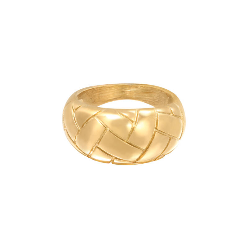 Braided Ring - gold