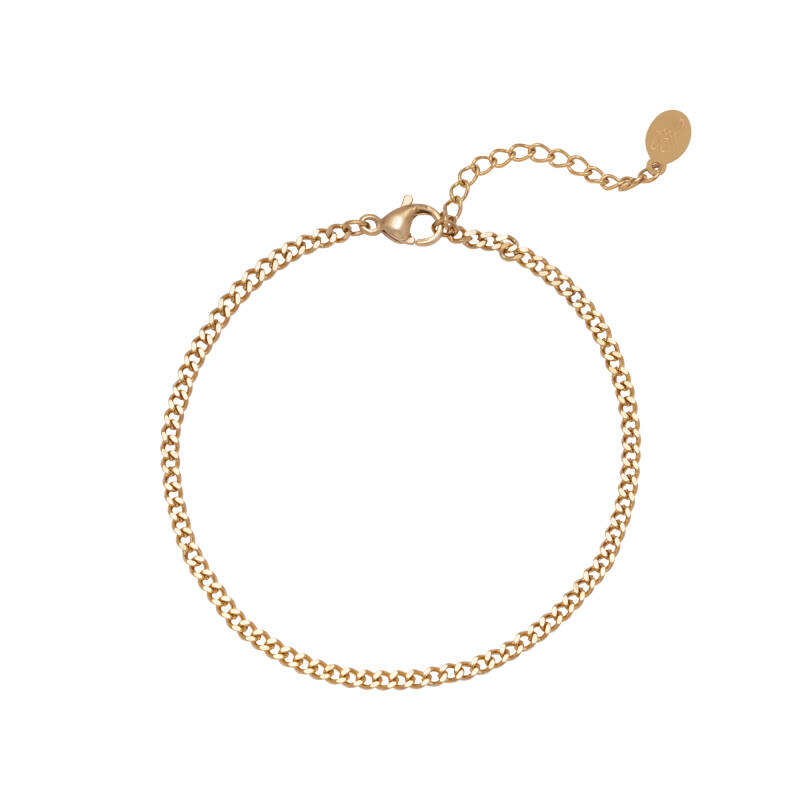 Tiny Chain Bracelet - gold