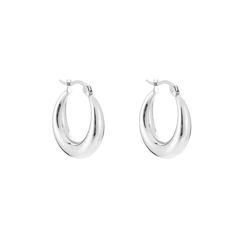 Night Out Hoops - silver