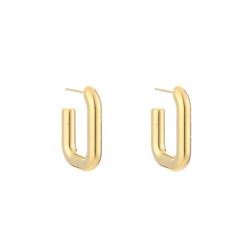 Glam Hoops - gold