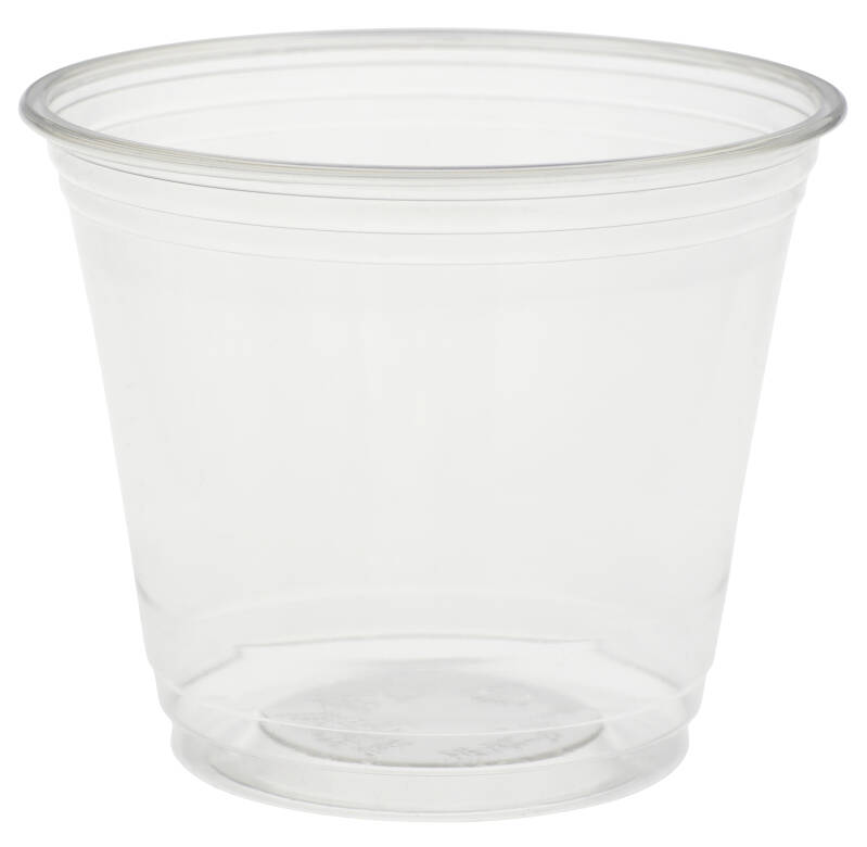 "rPET Becher ""Crystal"" 270ml (Siegelfähig)"