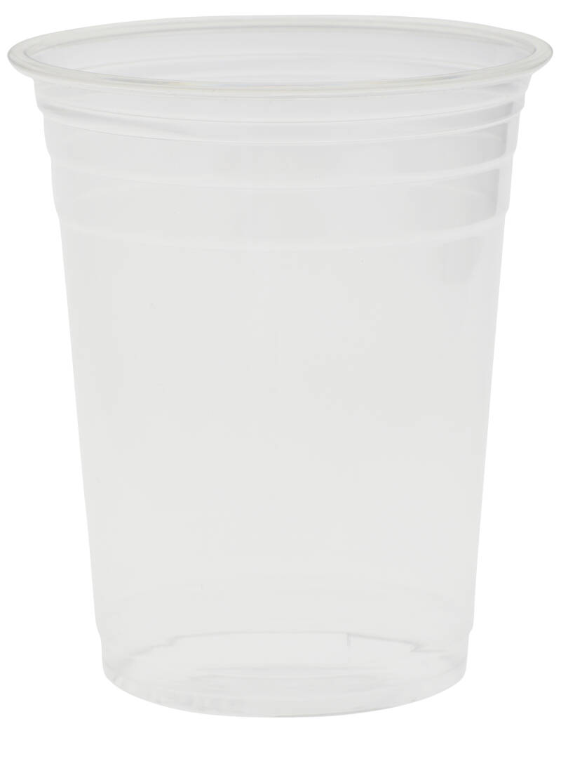 "rPET Becher ""Crystal"" 400ml (Siegelfähig)"