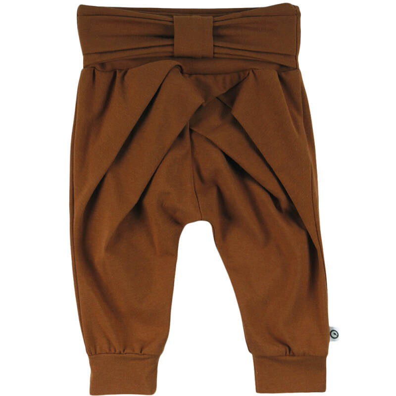Müsli Cozy me Bow Pants - Ocher