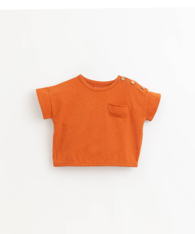 Play Up Flamé Jersey T-Shirt - Anise