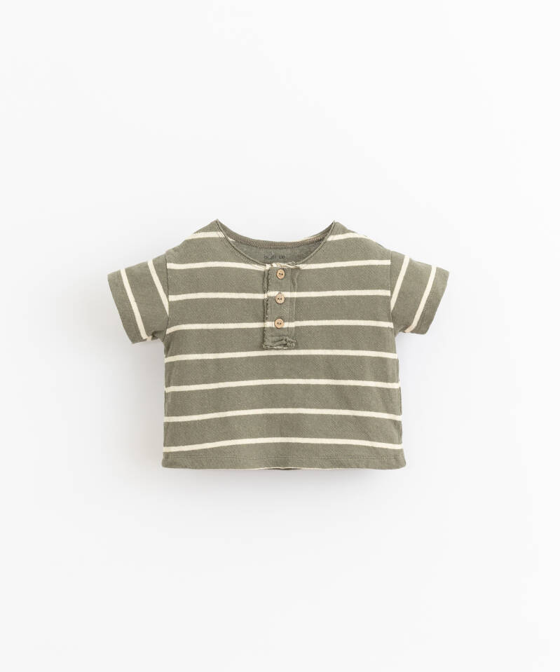 Play Up Striped Jersey T-Shirt - Cocoon