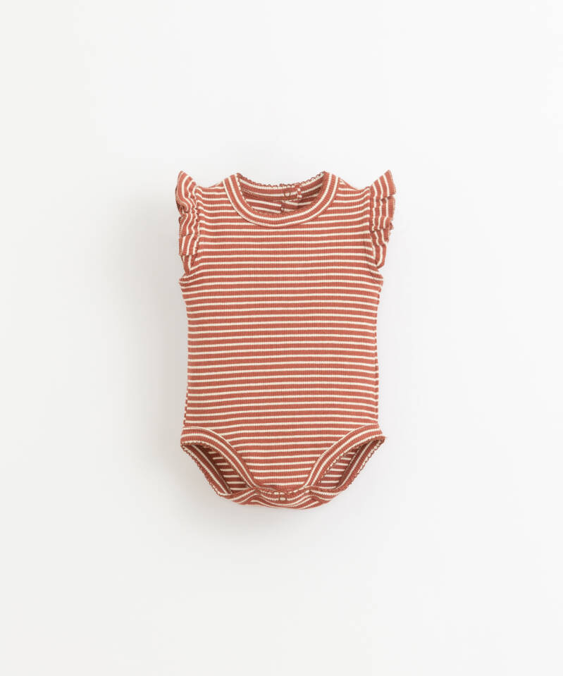 Play Up Striped Body Rib - Farm