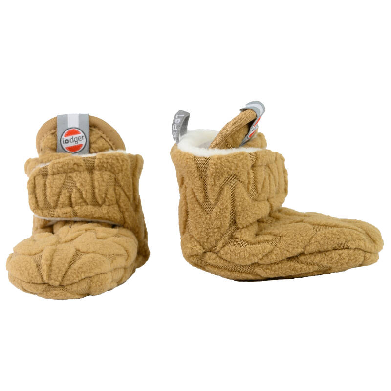 Lodger Slipper Empire Fleece - Dark Honey