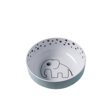 Done by deer yummy bowl happy dots blauw