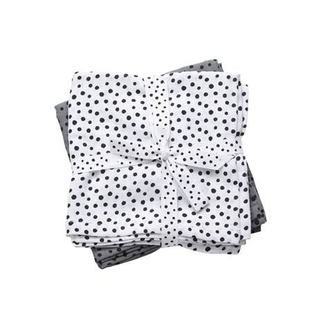 Done by deer swaddle 2-pack happy dots - Grijs