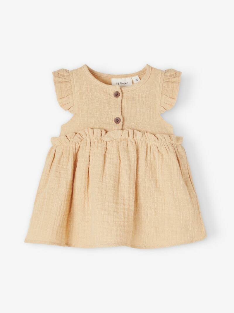 Lil' Atelier Jurk Ina - Taos Taupe