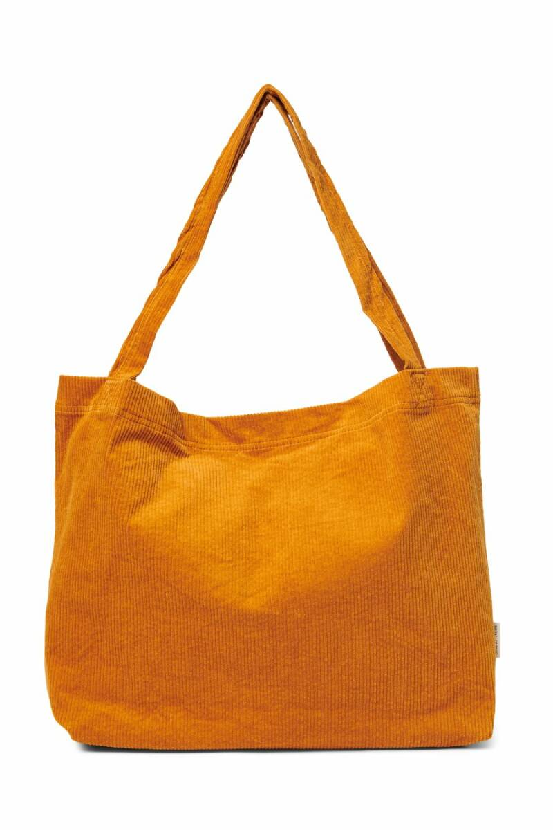Studio Noos mom-bag - Orange Rib