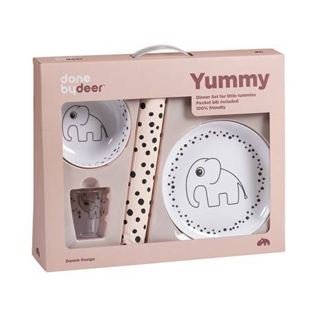 Done by Deer dinner set, Happy dots - Poeder