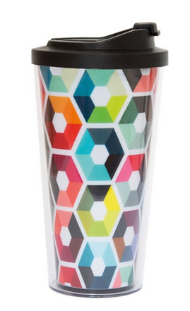 Coffee to go beker - hexagon