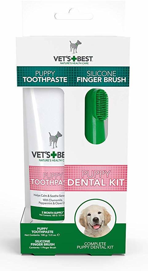 Vet's Best Puppy Dental Kit