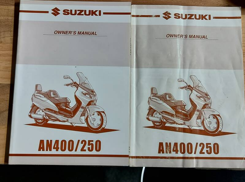 Owner's manual - 9901114F5301A - AN400/250