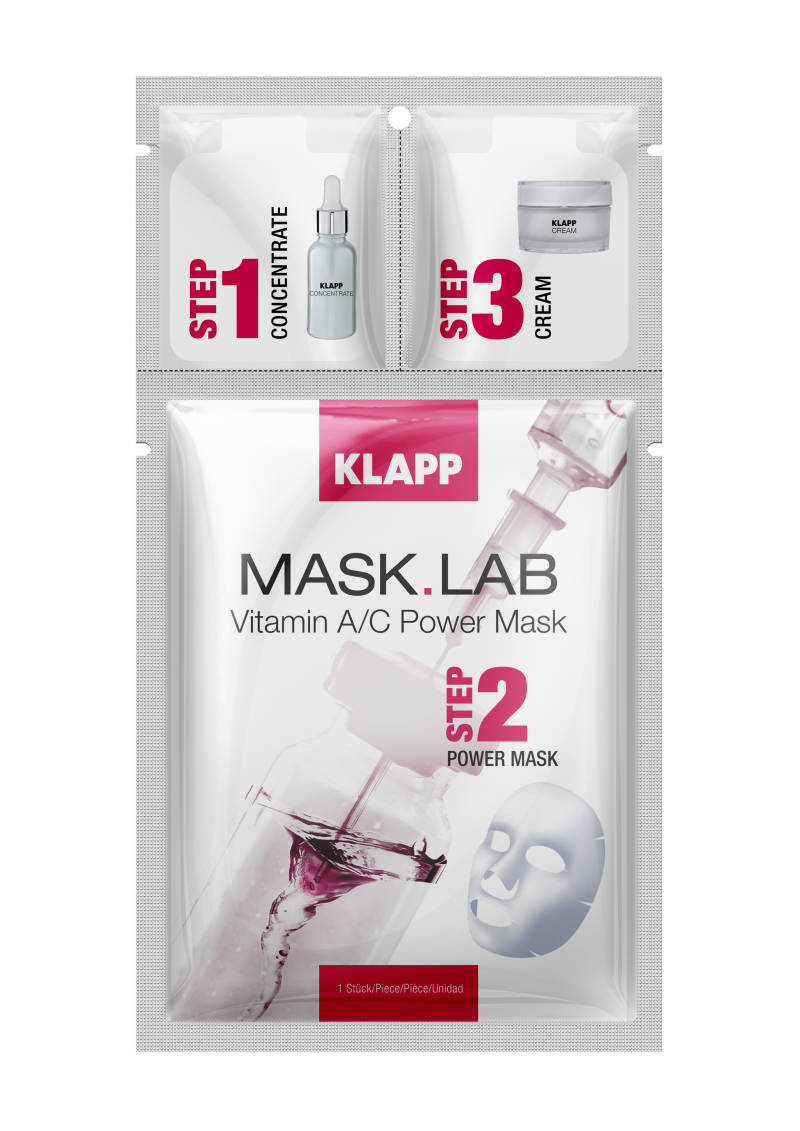 Mask Lab | Vitamine A/C Power Mask