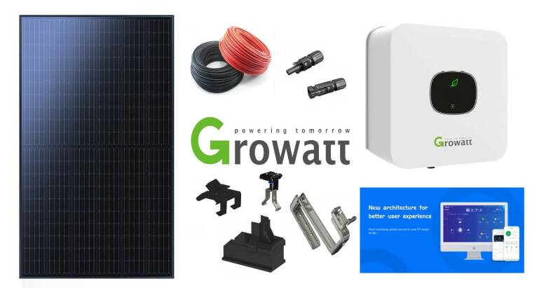 Power pakket 12 Phono Solar - Mono 360 All Black incl. BTW & installatie