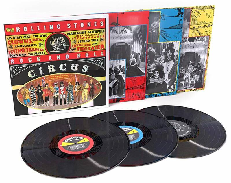 The Rolling Stones Rock and Roll Circus | Rolling Stones, The LP box 3 lp