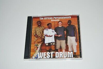 The african percussionists kamuende west drum