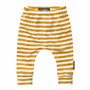BAGGY PANT OCHRE STRIPES
